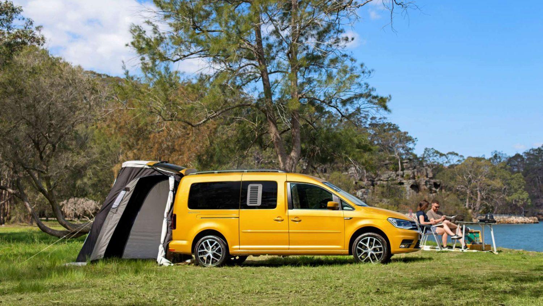 VW Caddy Camper Van.