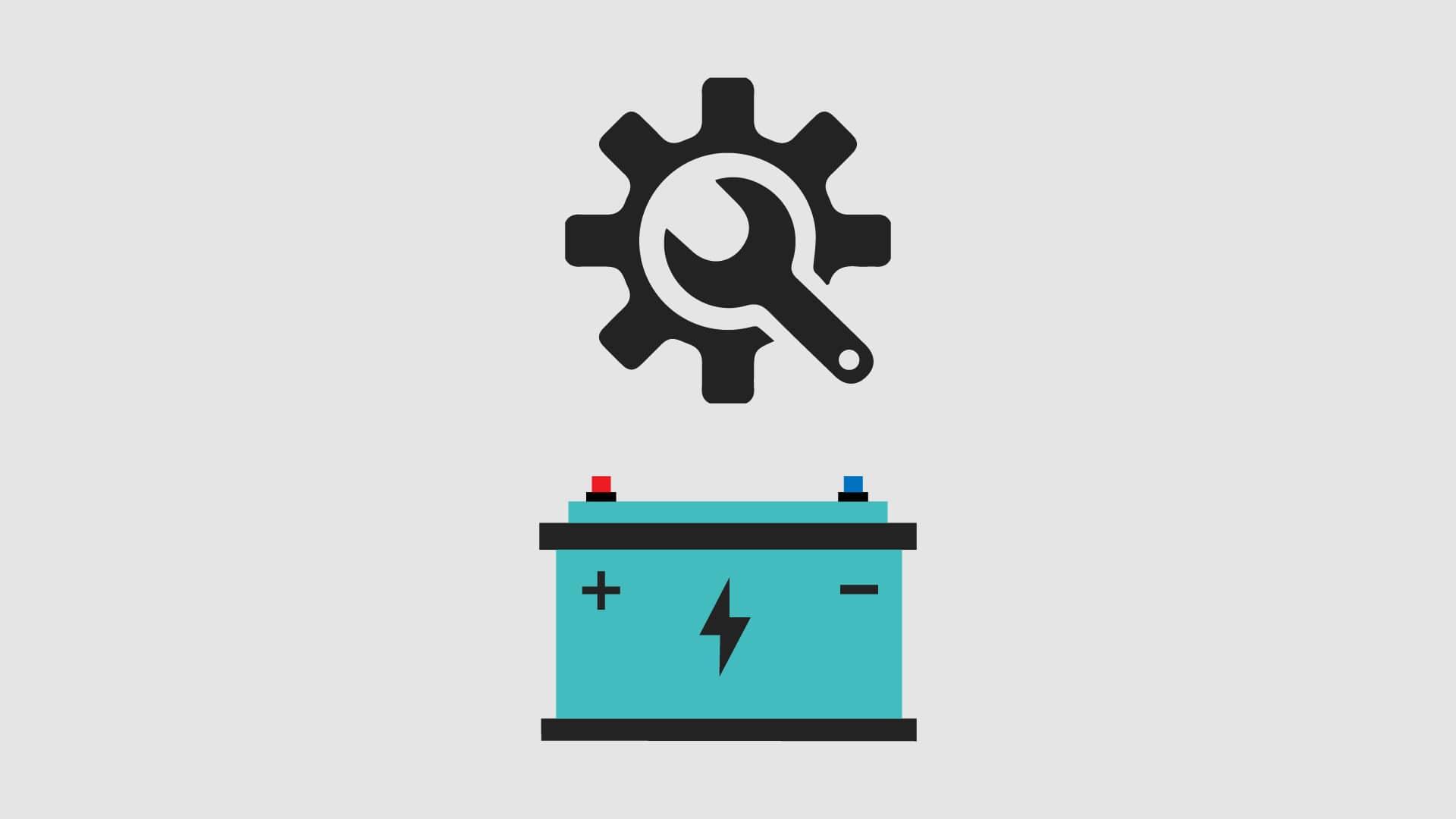 Campervan leisure battery maintenance