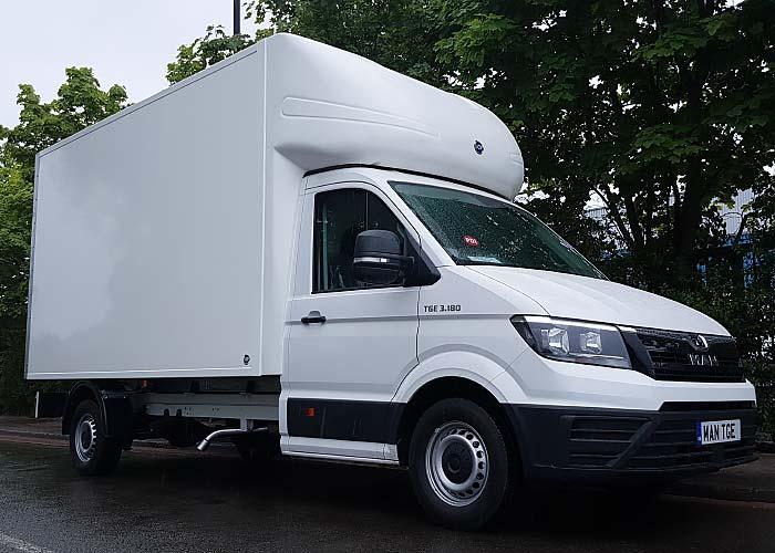 Box-Van Campervan: MAN TGE