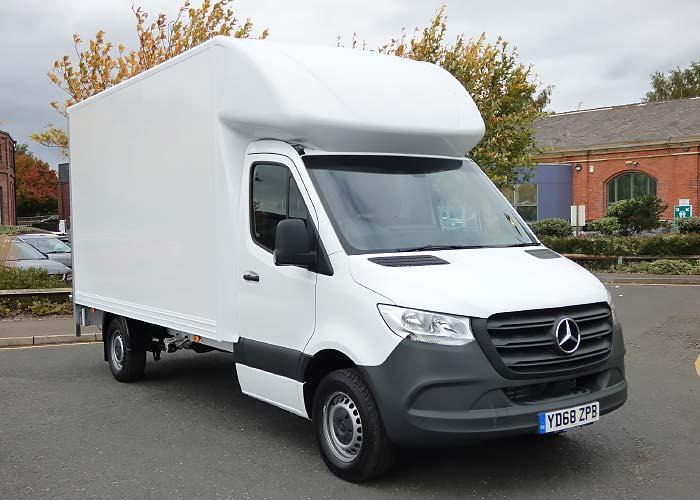Box-Van Campervan: Mercedes-Benz Sprinter
