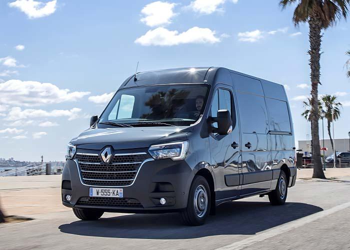 Large Campervan: Renault Master