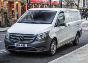 Small Campervan: Mercedes-Benz Vito