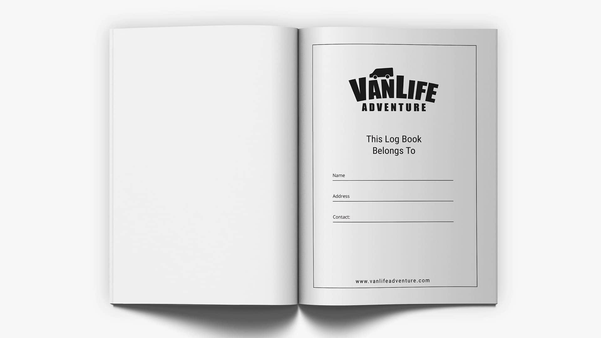vanlife travel log campervan book journal 5
