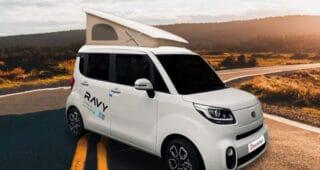 Kia Ravy: The tiniest campervan for your road trip adventures